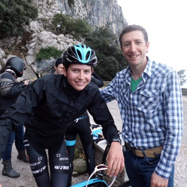 Jeremiah and Joe Dombrowski ready for the 2013 racing season at team training camp in Mallorca, Spain
